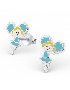My-jewelry - H19453uk - Sterling silver pom-pom girls earring