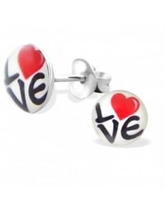 My-jewelry - H19762uk - Sterling silver Love earring