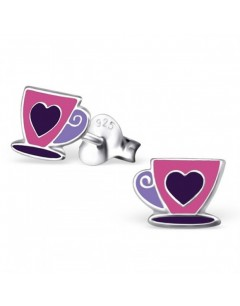 My-jewelry - H21007 - earring lovely cup in 925/1000 silver