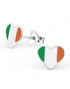 My-jewelry - H23048 - earring heart of Ireland, in 925/1000 silver