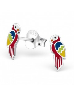 My-jewelry - H23808uk- Sterling silver parrot earring