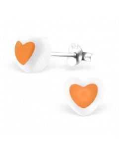 My-jewelry - H23821uk - Sterling silver heart egg earring
