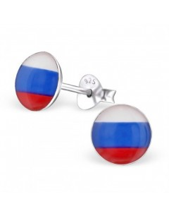 My-jewelry - H24436uk - Sterling silver the colors of Russia earring