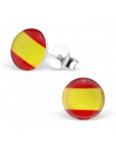 My-jewelry - H26131 - earring in the colors of Spain in 925/1000 silver