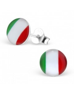 My-jewelry - H26132 - earring in the colors of Italy in 925/1000 silver