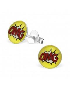 My-jewelry - H26438uk - Sterling silver OMG earring