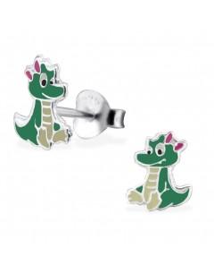 My-jewelry - H26499 - earring nice dragon in 925/1000 silver