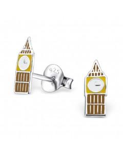 My-jewelry - H22220 - earring Big Ben in 925/1000 silver