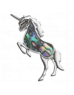 My-jewelry - H386 - Pretty pin-Unicorn enamel stainless steel