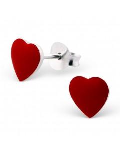 My-jewelry - H7126 - earring heart 925/1000 silver