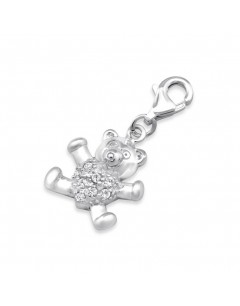 My-jewelry - H398uk - Sterling silver Charms bear earring