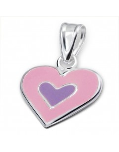 my-jewelry - H1023uk - Sterling silver heart necklace