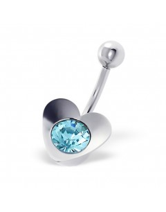 My-jewelry - H359 - Jolie piercing heart stainless steel