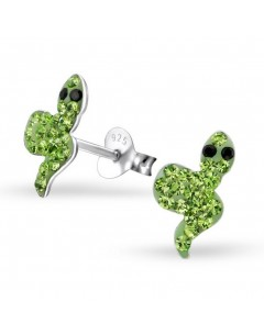 My-jewelry - H22277uk - Sterling silver snake earring