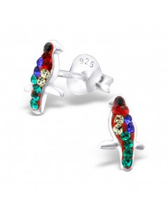 My-jewelry - H22335uk - Sterling silver parrot earring