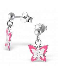 My-jewelry - H4746uk - Sterling silver butterfly earring