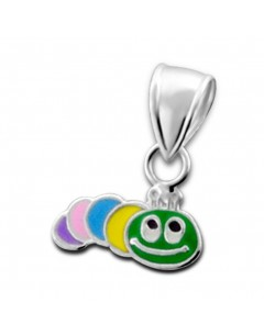 My-jewelry - H15074uk - Sterling silver pretty worm of earth necklace