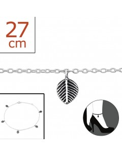 My-jewelry - H1612zuk - Sterling silver Chain ankle
