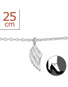 My-jewelry - H5422zuk - Sterling silver wing angel Chain ankle