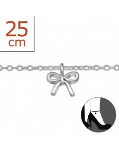 My-jewelry - H6034zuk - Sterling silver Chain ankle