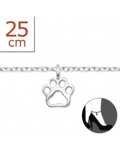 My-jewelry - H6084zuk - Sterling silver leg cat Chain ankle