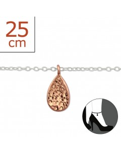 My-jewelry - H6303zuk - Sterling silver Chain ankle