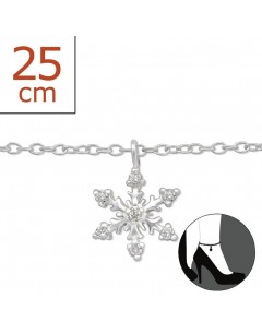 My-jewelry - H6401zuk - Sterling silver Chain ankle