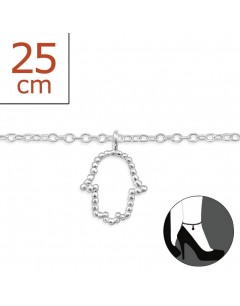 My-jewelry - H6410zuk - Sterling silver Chain ankle