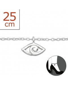 My-jewelry - H6443zuk - Sterling silver Chain ankle