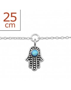 My-jewelry - H7786zuk - Sterling Silver Chain ankle