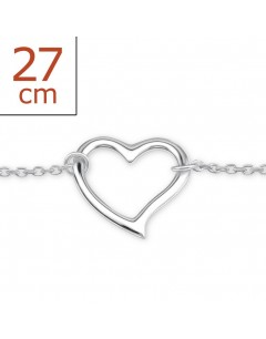 My-jewelry - H6125zuk - Sterling Silver Chain ankle