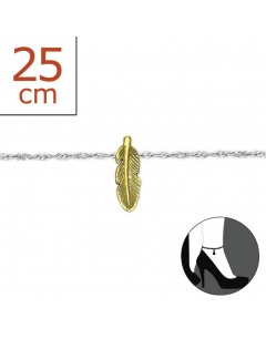 My-jewelry - H6222zuk - Sterling Silver Chain ankle