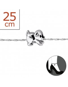 My-jewelry - H5804zuk -Sterling Silver Chain ankle
