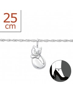 My-jewelry - H6326zuk - Sterling Silver Chain ankle