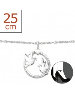 My-jewelry - H7894zuk - Sterling Silver Chain ankle
