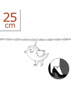 My-jewelry - H8274zuk - Sterling Silver Chain ankle