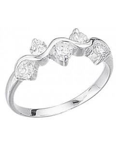 Elegant ring in 925/1000 silver