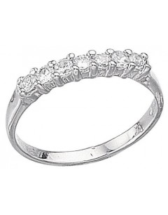 My-jewelry - D689uk - Sterling silver zirconia ring
