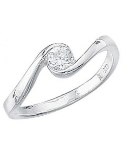 My-jewelry - D691cuk - Sterling silver zirconia ring