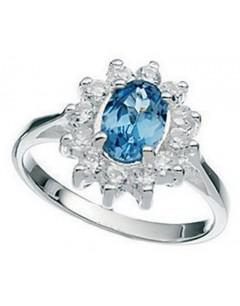 Ring princess 925/1000 silver