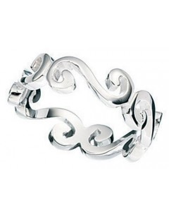 My-jewelry - D922uk - Sterling silver Bushing celtic ring