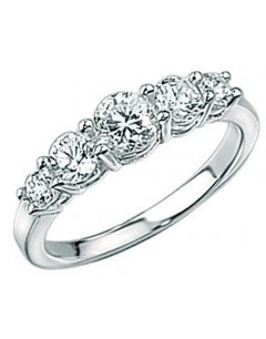 My-jewelry - D2103cuk - Sterling silver princess ring