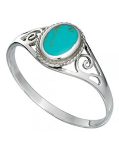 My-jewelry - D2992tuk - Sterling silver turquoise ring