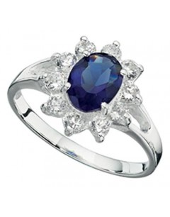 My-jewelry - D3034uk - Sterling silver princess ring