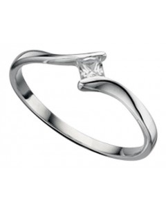 My-jewelry - D3097cuk - Sterling silver solitaire ring