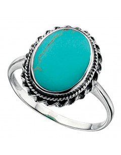 My-jewelry - D3150tuk - Sterling silver turquoise ring