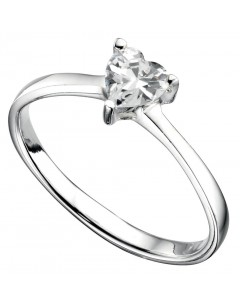My-jewelry - D3210cuk - Sterling silver zirconia heart ring