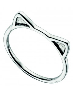 Ring cat in 925/1000 silver