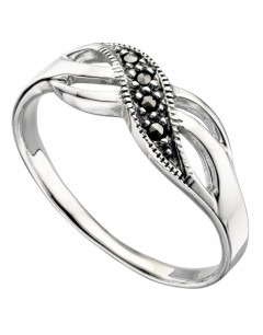 My-jewelry - D3225uk - Sterling silver chic marcassite ring