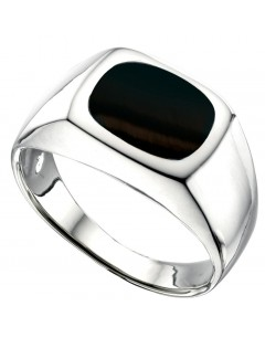 Ring onyx in 925/1000 silver